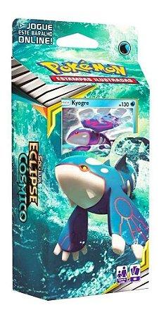 Jogo Carta Baralho Deck Kyogre Pokemon Tcg 60 Cards Copag