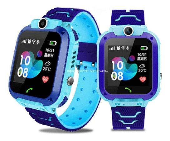 Relógio Pulseira Smartwatch Camera Som Crianças Gps Ligação