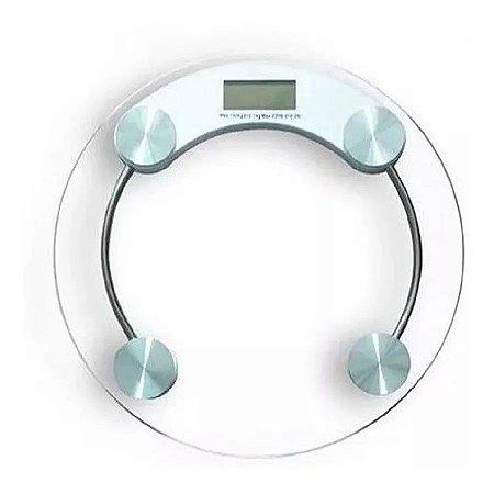 Balança Digital Vidro Humana 180kg Academia Banheiro