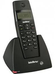 Telefone s/fio ts 40 id intelbras preto