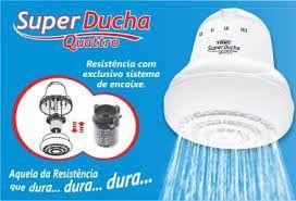 Super Ducha Quattro - Branca - 220V~ 6.800W