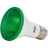 Lâmpada LED PAR20 6W Verde IP65 Luminatti