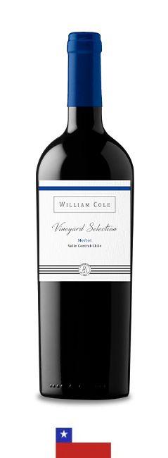 WILLIAM COLE VINEYARD SELECTION MERLOT