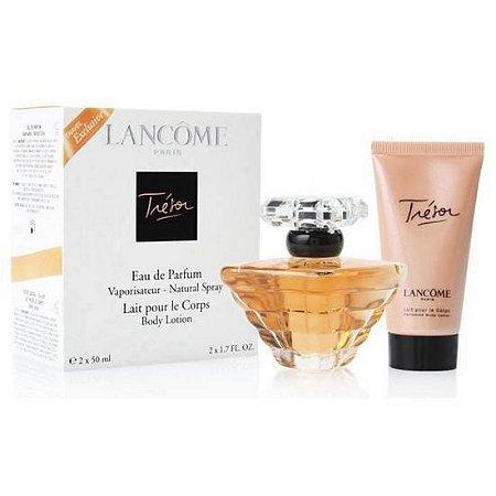 Kit Perfume Lancome Tresor 50ML