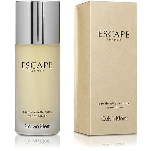 Perfume calvin klein escape eau de toilette 100ml