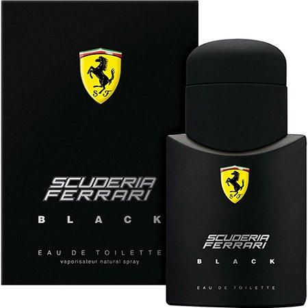 Perfume Scuderia Ferrari Black Eau de Toilette 75ml