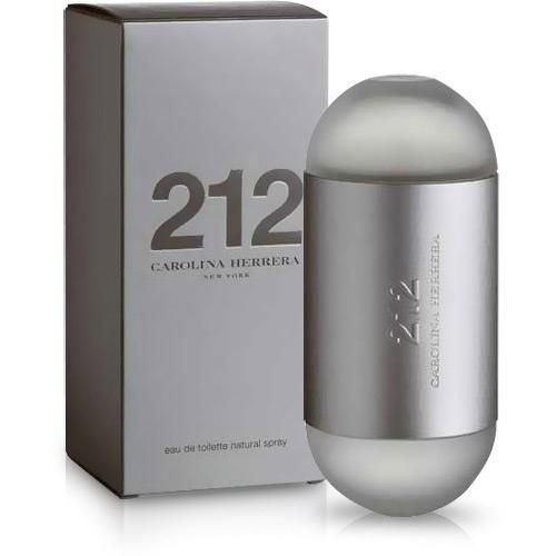 Perfume carolina herrera 212 eau de toilette 60ml