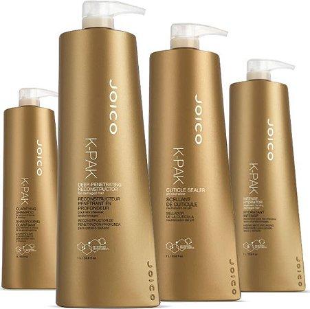 Shampoo joico k-pak hair repair system kit 1ltr
