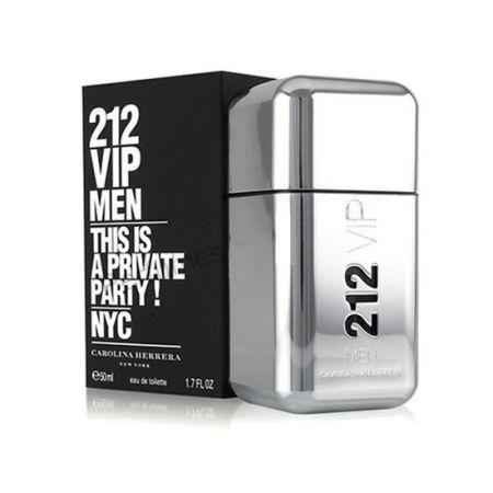 Perfume carolina herrera 212 vip men 50ml