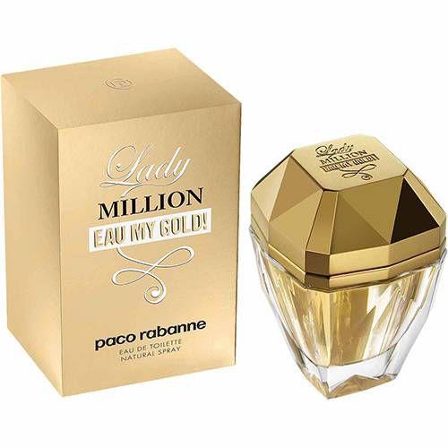 Perfume paco rabanne lady million eau de toilette 50ml