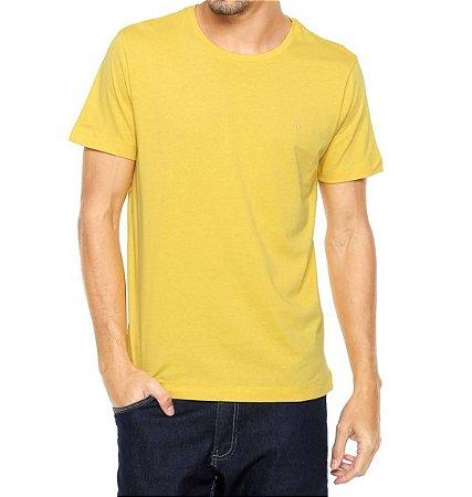Camiseta forum lisa amarela tam p