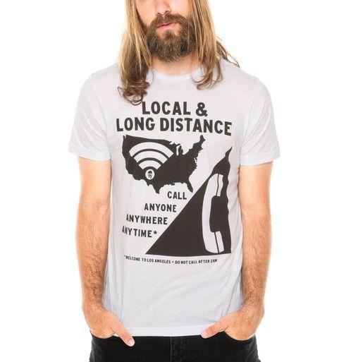 Camiseta Manga Curta Von Dutch Branca TAM P