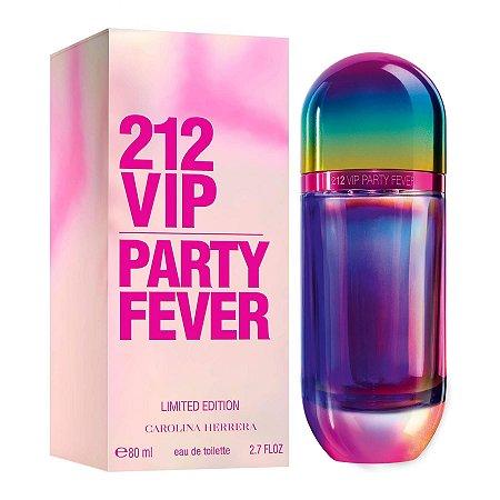 Perfume carolina herrera 212 vip party fever 80ml