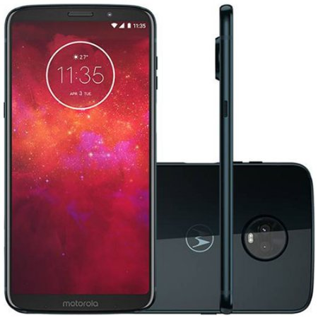 Celular Motorola Moto Z3 Play 64GB Dual Sim Indigo