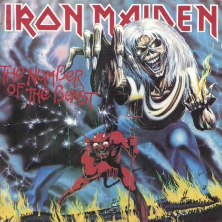 CD IRON MAIDEN - THE NUMBER OF THE BEAST (NOVO/LACRADO)