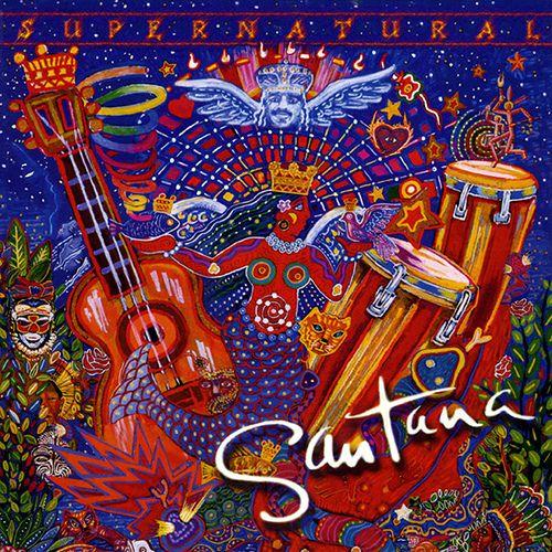CD Carlos Santana – Supernatural (1999) (USADO)