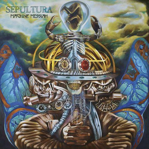 CD Sepultura - Machine Messiah