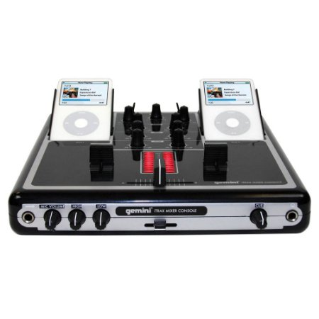 Dj Mixer Para Ipod E Iphone 2 Canais Gemini Itrax 110v