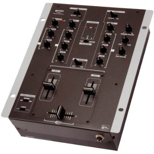 Dj Mixer Gemini De 2 Canais Ps 424 X