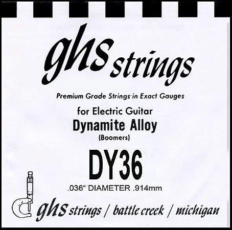 Corda Avulsa Guitarra Ghs (boomers) Dy36