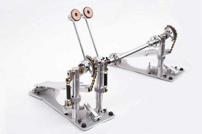 Pedal Duplo K. A. Drum Chain Drive Mod. 2019 Corrente Dour.