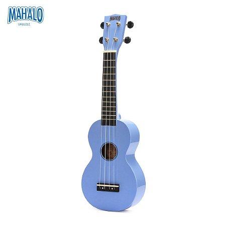 Ukulele Soprano Mahalo Azul Claro