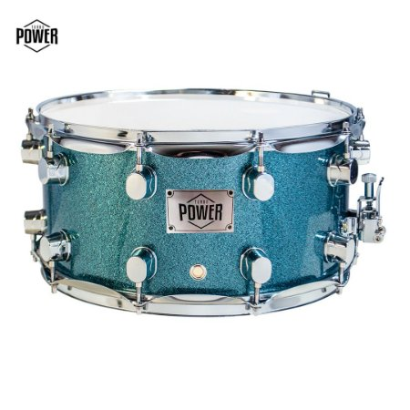 Caixa Turbo Power 14 x 7 Azul Sparkle