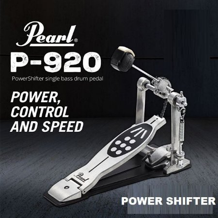 Pedal Bateria Pearl P920 Power Shifter