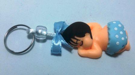 Lembrancinha chaveiro Bebê bumbum menino