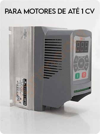 Inversor de frequência para motores - Ageon - 1CV