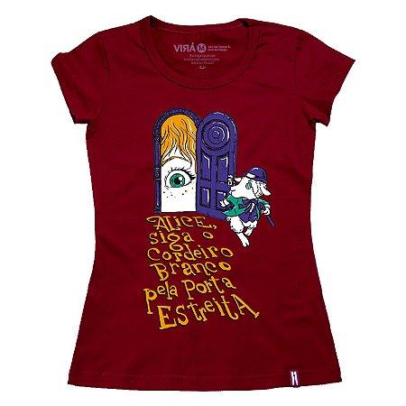 Camiseta Feminina Alice