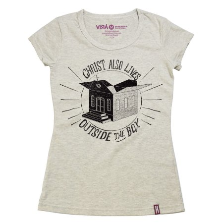 Camiseta Feminina Box