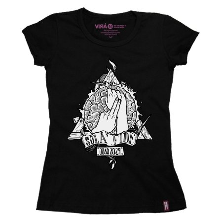 Camiseta Feminina Fide