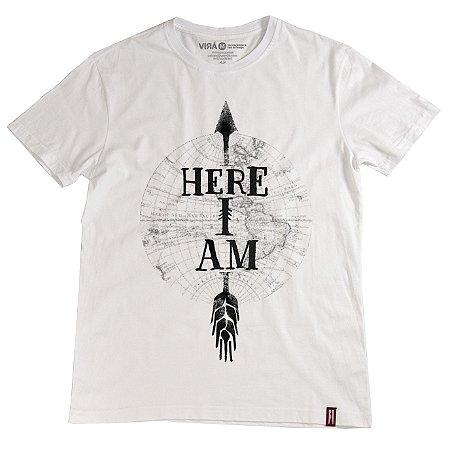 Camiseta Here I Am