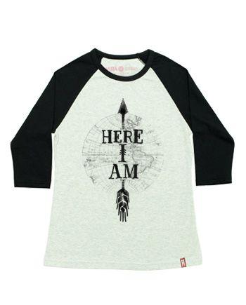 """Here I Am"" | Raglan Fem."