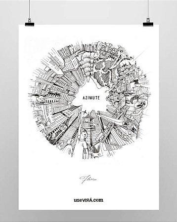 """Azimute"" | Poster (Sem Moldura)"