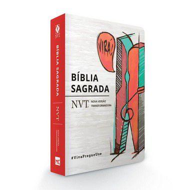 BÍBLIA NVT - VIRÁ (PREGADOR) - LETRA NORMAL