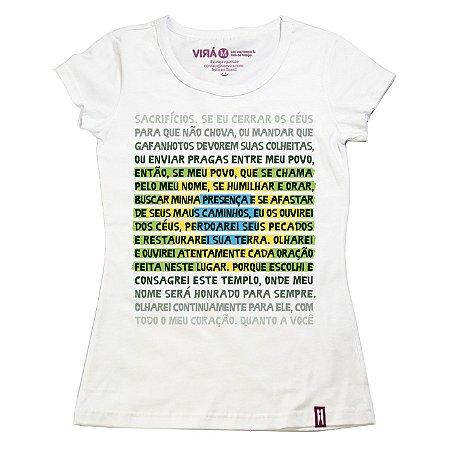 Camiseta Feminina Meu Povo