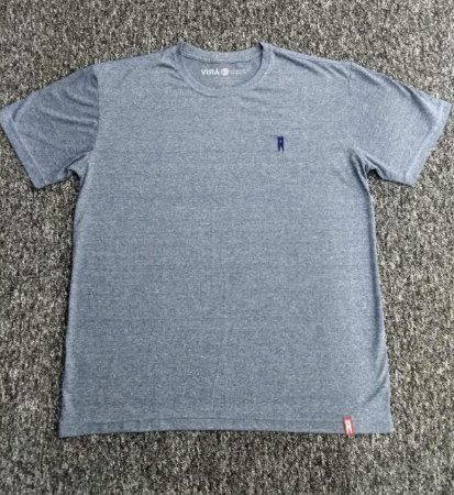 """Básica Mescla Azul""| Tshirt"