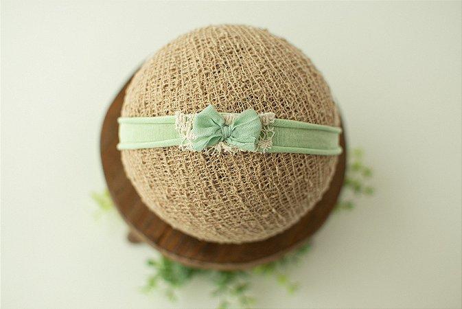 Headband Lacinho Verde