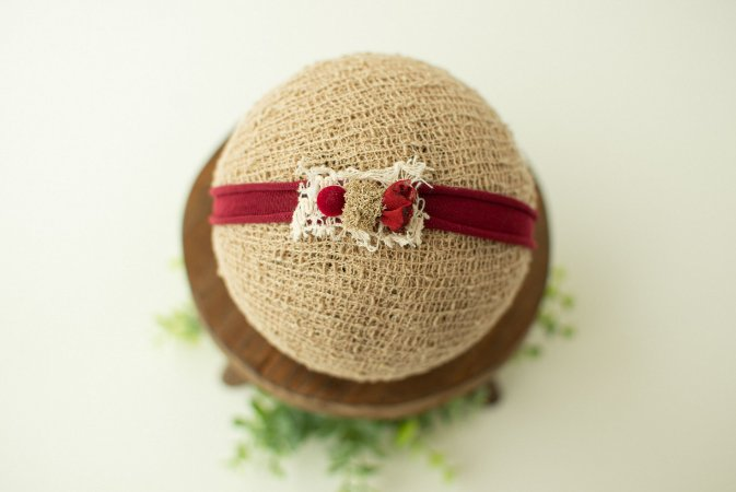 Headband Maria Bordô