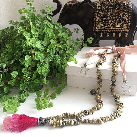 Colar Jade Africana