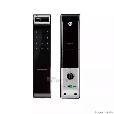 Fechadura Biometrica Yale YDM 4109 de Embutir com Rolete