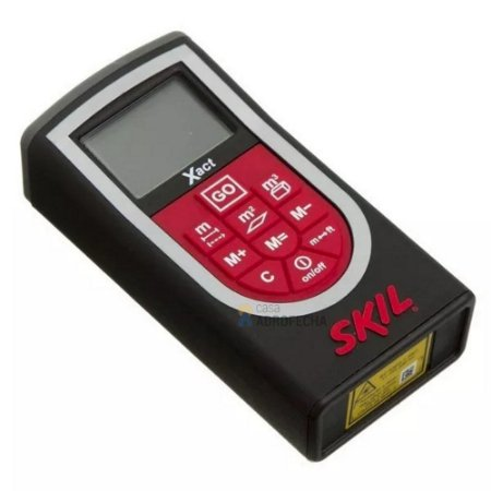 Medidor De Distâncias Laser 20m X-act 0530 - Skil