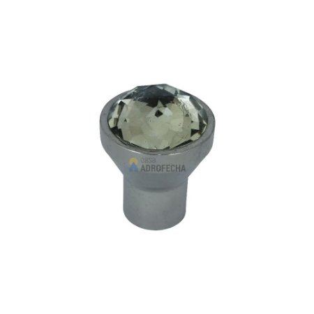 Puxador 4400 com Cristal Cromado