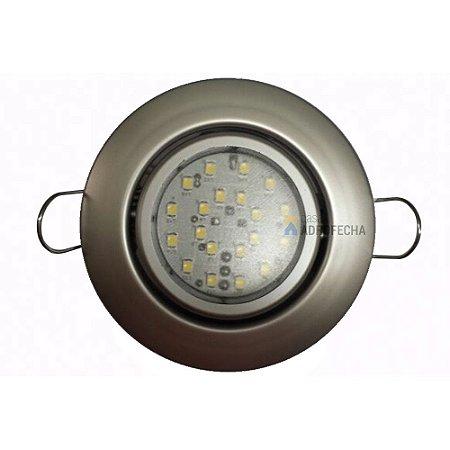 Luminária Dicroled de Embutir 4,4W 220V
