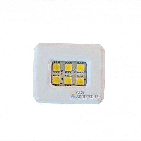 Luminária Mini Dicroled de Embutir 1,5W Bivolt