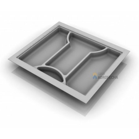 Divisor de Talheres 054 - 540x480mm- Branco
