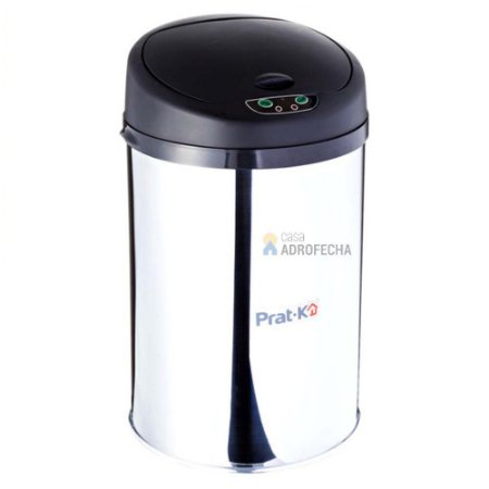 Lixeira Inox Polido com Sensor 9 Litros