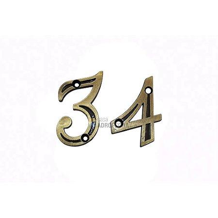 Algarismo Número Isero 40mm para Portas